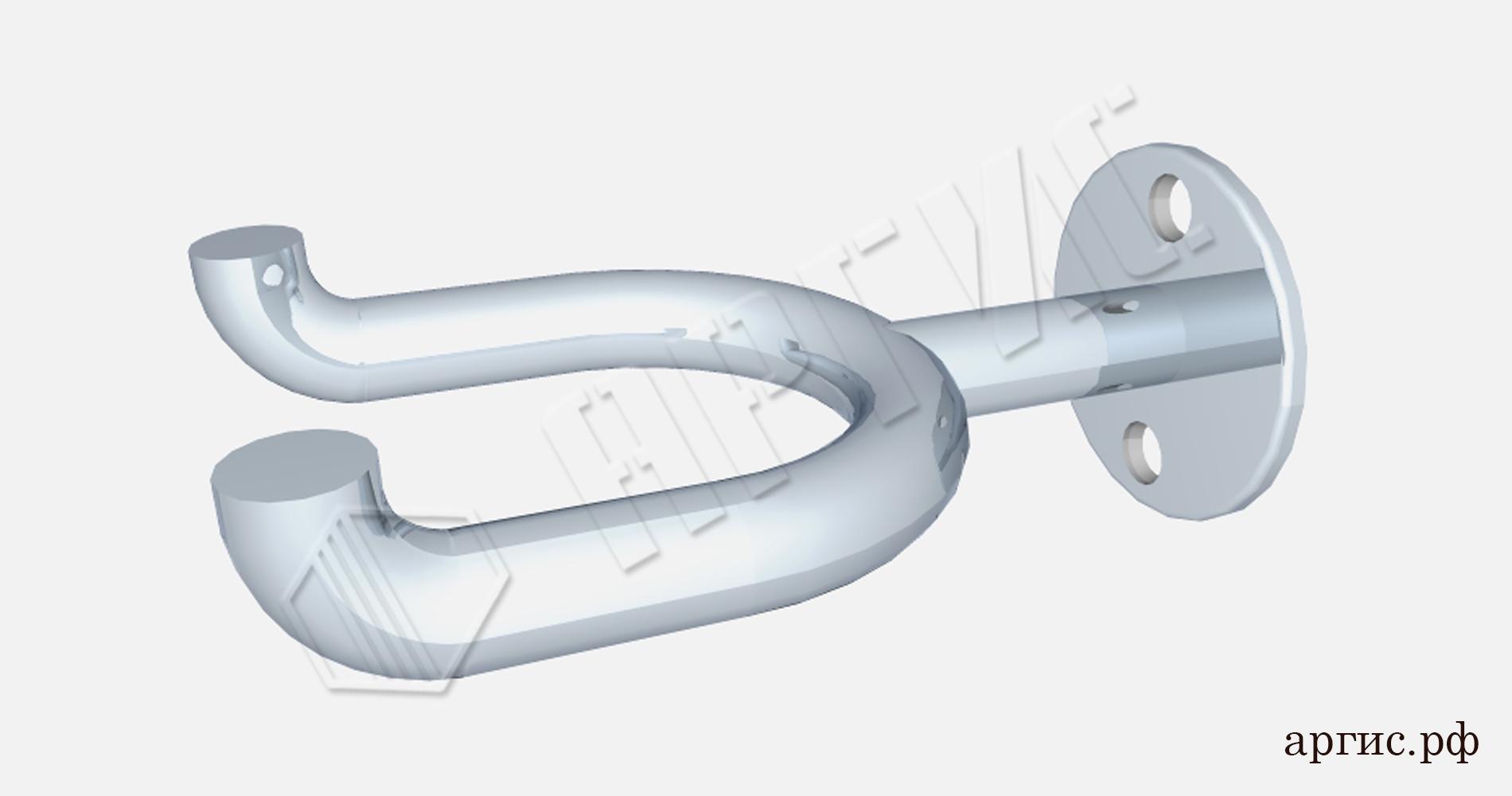 Крючки для костылей инвалидов фото